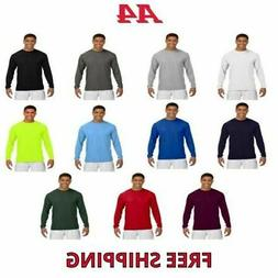 A4 Men's Cooling Performance Long Sleeve T-Shirt Dri-Fit L/S