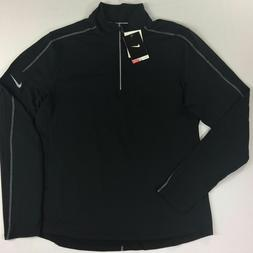 Men's Nike Dri-Fit Quarter-Zip Long Sleeve Running Shirt Siz
