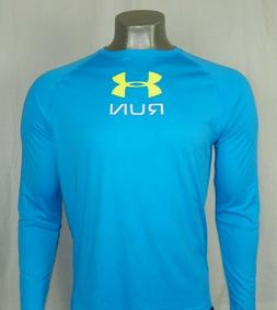 Under Armour Men's HeatGear Reflective Long Sleeve Loose Fit