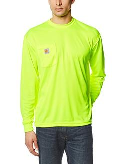Carhartt Men's High Visibility Force Color Enhanced Long Sle