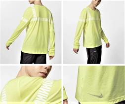Men's Long-Sleeve Running T-Shirt ,Nike Dri-FIT ,Retail $60.