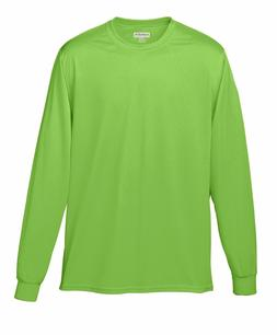 Augusta Sportswear Men's Moisture Wicking Long Sleeve Polyes