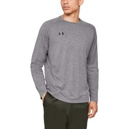 Under Armour Men's Tech Long sleeve Shirts, Charcoal Light H