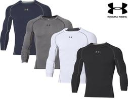 Mens Under Armour Compression Shirt HeatGear Armour Long Sle