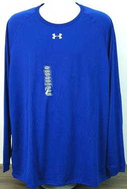 Under Armour Men's Heatgear Long Sleeve Graphic T-Shirt Bl