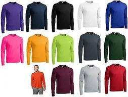 Mens Moisture Wicking Dry Long Sleeve dri-fit Running T-shir