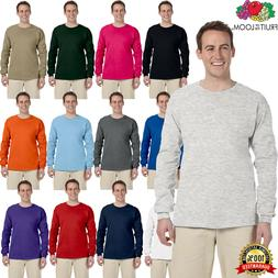 Fruit of the Loom Adult 5 oz. HD Cotton Long Sleeves T-Shirt