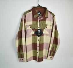 Imperious Mens Size Large Long Sleeve Button Up Shirt NWT