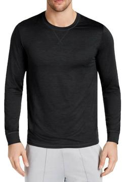 Mens 32 Degrees Stay Cool Black Crew Neck Long Sleeve T Shir