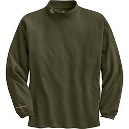 Legendary Whitetails Men's Legendary Mock Tee Pullover Olive