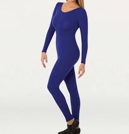 Body Wrappers MT217 Adult Large  Royal Blue Full Body Long S