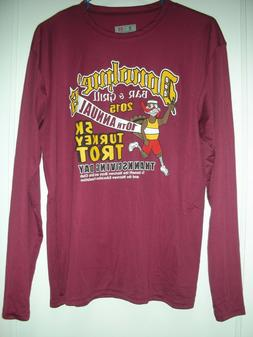 NEW A4 DONOHUE'S WATERTOWN 5K MENS PERFORMANCE LONG SLEEVE R