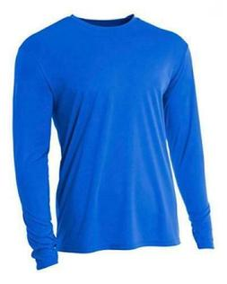 NEW A4 Dry-Fit Cooling 100% Performance Long Sleeve T Shirt