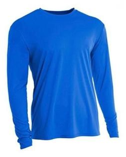 NEW A4 Dry-Fit Cooling 100% Performance Long Sleeve T N3165