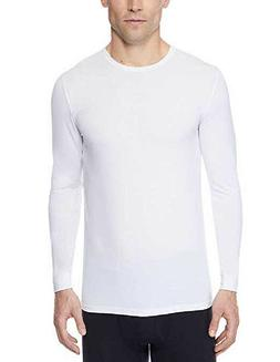 NEW 32 DEGREES HEAT MEN'S LONG SLEEVE BASE LAYER TOP - WHITE