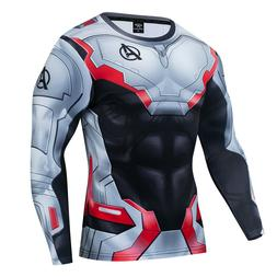 New Marvel 3D Printed Superhero Costume Cosplay Compression
