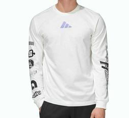 NEW MEN'S ADIDAS ATHLETIC PACK LONG SLEEVE TEE SHIRT ~SIZE X