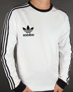 Adidas Men's Long Sleeve Trefoil Logo Graphic T-Shirt