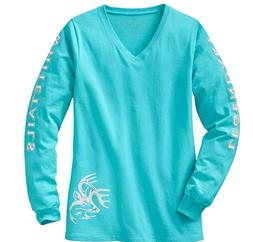 NEW NWT Legendary Whitetails Ladies Non-Typical Long Sleeve