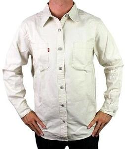NEW NWT LEVI'S MEN'S COTTON CLASSIC LONG SLEEVE BUTTON UP DR