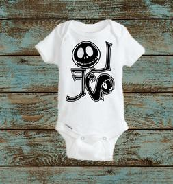 Nightmare before Christmas Love Baby's First Halloween Baby