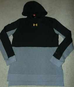 ~NWT Boys UNDER ARMOUR Long Sleeve Hoodie Shirt! Size YMD Lo