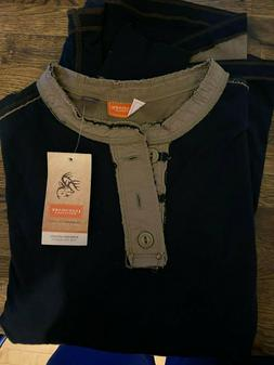 NWT Legendary Whitetails Long Sleeve Henley | Size Small | B