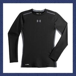 NWT Under Armour UA Boys' Long Sleeve Sonic Fitted T-Shirt