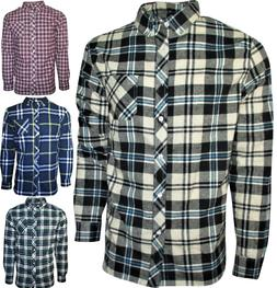 Plaid, Flannel Shirt for Men- Long Sleeve, Button Down in Me