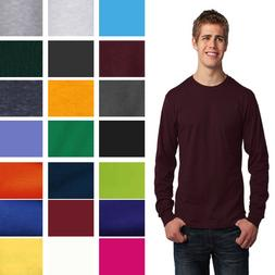 port and company long sleeve core cotton