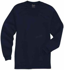 River's End UPF 30+ Long Sleeve Tee  Casual   Tops - Navy -