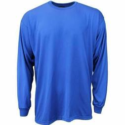 River's End UPF 30+ Long Sleeve Tee  Casual   Tops - Blue -