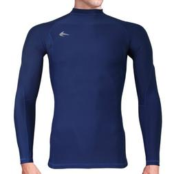 Compression Shirt Long Sleeve  Men's Cold Top, Best for Gym