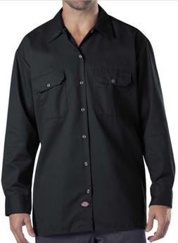 DICKIES SHIRTS 574 MENS WORK SHIRT LONG SLEEVE BUTTON FRONT