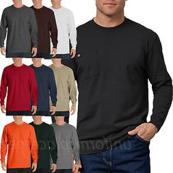 Dickies Shirts Mens Long Sleeve Tee Heavyweight Crew Neck T