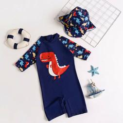 Summer Baby Toddler Boy's UPF 50+ Sun Protection Long Sleeve