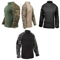 Tactical Airsoft Combat Long Sleeve Lightweight Shirt Rothco