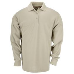 5.11 Tactical Tall Men's Long-Sleeve Professional Polo, Si
