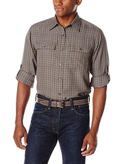 Royal Robbins Men's Teton Long Sleeve Shirt, XX-Large, Thund