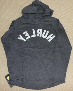 Hurley Top Tee Hoodie Shirt  Boy's S 8 10 Long Sleeve NWT Gr