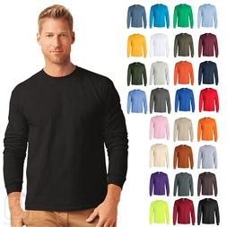 Gildan Ultra Cotton Mens Long Sleeve Tee Crewneck S-5XL - 24