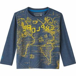 Coolibar UPF 50+ Toddler Long Sleeve Everyday Graphic T-Shir