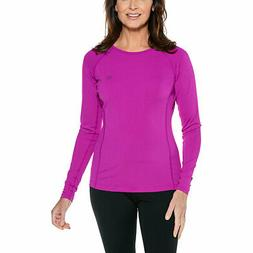 Coolibar UPF 50+ Women's Long Sleeve Hightide Swim Shirt