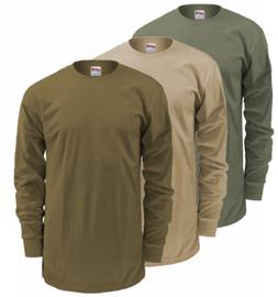 US Military Soffe GI Long Sleeve T-Shirt, Slightly Irregular