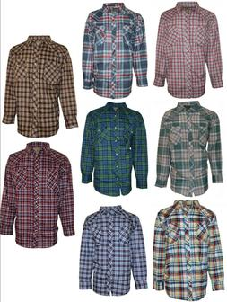 Western Shirt for Men- Big & Tall, Casual, Long Sleeve, Plai
