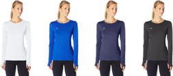 Under Armour Women's HeatGear Armour Long Sleeve, 4 Colors