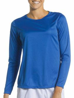 A4 Women's Performance Wicking Long Sleeve Cooling Crewneck