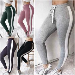 Women Sport Pants High Waist Yoga Fitness Leggings Running G