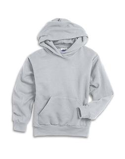 Hanes Youth ComfortBlend EcoSmart Pullover Hoodie Ash XS