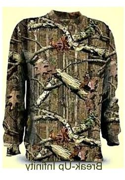 Z-wear Men's Camo Long Sleeve T-shirt - Breakup Infinity